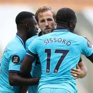 Com dois de Harry Kane, Tottenham vence o Newcastle fora ...
