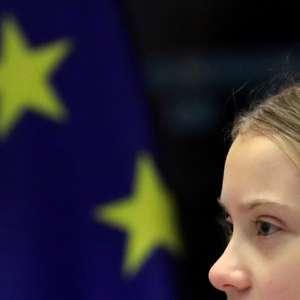 """Ativista Greta Thunberg exige reação """"emergencial"""" a ..."""