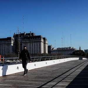 Argentina bate recorde de contágios em 24 horas