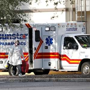 Florida registra 9.300 novos casos e ultrapassa Nova York