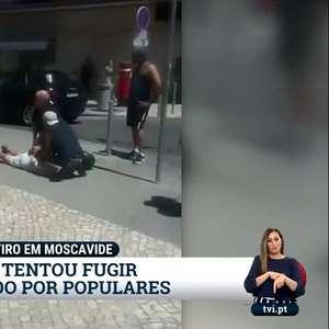 TV exibe assassino do ator Bruno Candé sendo imobilizado