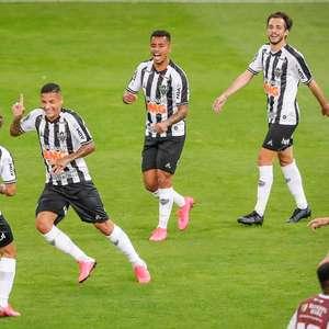 Atlético-MG goleia e se garante na semifinal do Mineiro