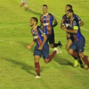 Bahia abre vantagem contra o Jacupiense na semi do Baianão