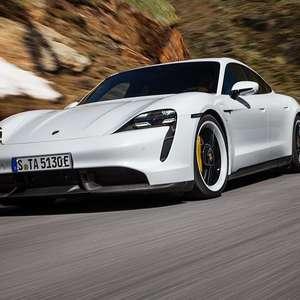 Porsche abre pré-venda do Taycan 100% elétrico no Brasil