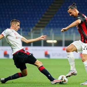 Milan derrota o Cagliari na despedida do Campeonato Italiano