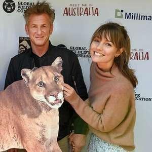 Sean Penn se casa em segredo com filha de Vincent D'Onofrio