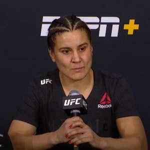 Após finalizar no UFC Vegas 5, Jennifer projeta lutar ...