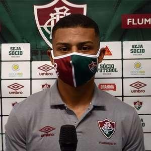Após estreia, André celebra e valoriza parceria com ex-companheiros da base do Fluminense