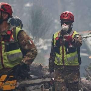 L'Aquila pede para governo declarar emergência por incêndio