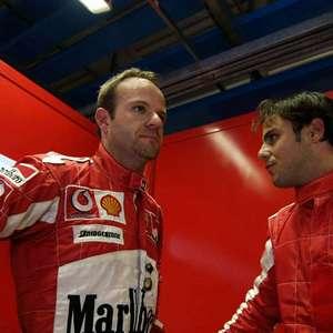 Ferrari anuncia saída de Barrichello e promove Massa