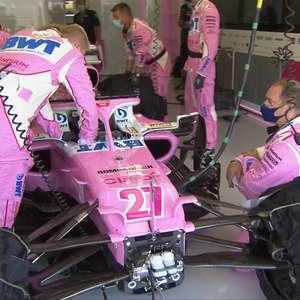 Racing Point diz que quebra na embreagem evitou largada ...