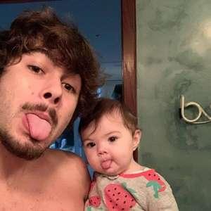 Rafael Vitti fala da relação com a filha na quarentena