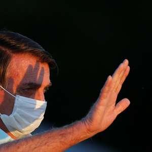 """""""Estou bem, já estou curado"""", diz Bolsonaro a apoiadores"""