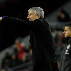 Técnico do Barça desenha 11 ideal para duelo contra o Napoli