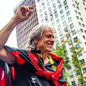 Jorge Jesus deseja sorte para Domènec Torrent no Flamengo