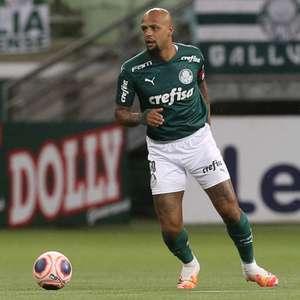Felipe Melo faz exame e desfalca o Palmeiras no primeiro jogo da decisão