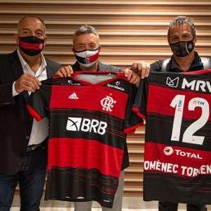 Novo técnico do Fla, Domènec Torrent chega ao Brasil e ...