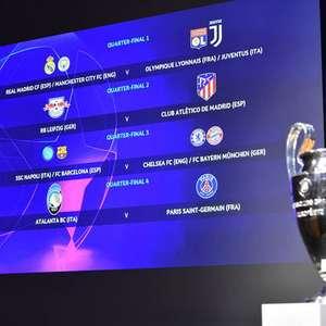 Champions League recomeça nesta semana após quase 5 meses