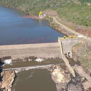 Defesa Civil monitora situação da barragem Passo do Meio