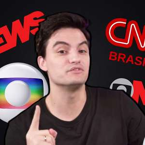 Novo queridinho da Globo, Felipe Neto boicota CNN Brasil