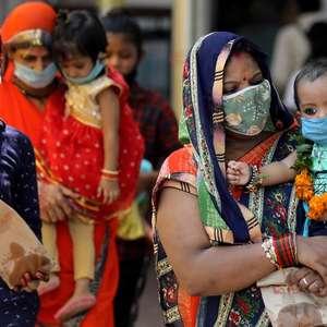 Casos diários de covid-19 na Índia superam Estados ...