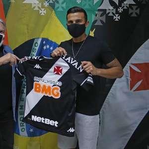 Vasco confirma contratação do atacante Guilherme Parede