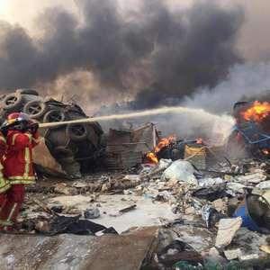 Explosão em Beirute deixa ao menos 10 mortos, dizem fontes