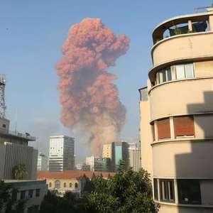 Forte explosão é registrada em Beirute