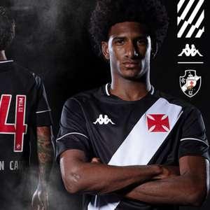 Vasco lança oficialmente os primeiros uniformes do retorno da Kappa