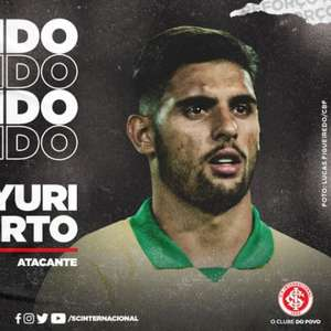 Yuri Alberto é, oficialmente, reforço do Internacional