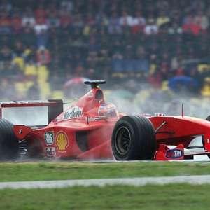 """Barrichello teve """"dia de Ayrton Senna"""" no GP da Alemanha ..."""