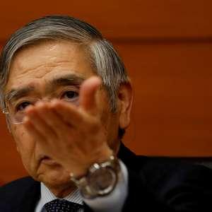 Presidente do BC do Japão alerta para novos obstáculos à ...
