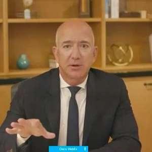 Bezos vende US$1,9 bi em participação na Amazon