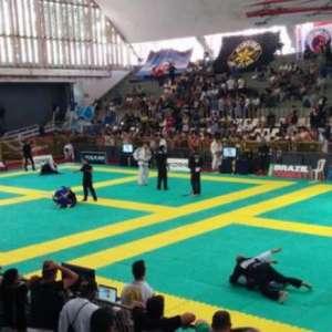 Palco do Jiu-Jitsu no Rio de Janeiro, Tijuca Tênis Clube ...