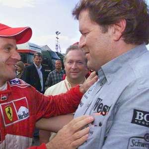 Vitória de Barrichello na Alemanha foi festejada até por membros de outras equipes