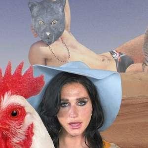 """Kesha disponibiliza o vídeo psicodélico de """"Little Bit ..."""