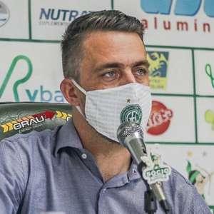 Satisfeito, dirigente mostra otimismo com o Guarani para o Brasileiro da Série B