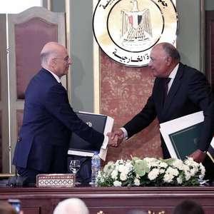 Egito e Grécia fecham acordo sobre fronteiras marítimas