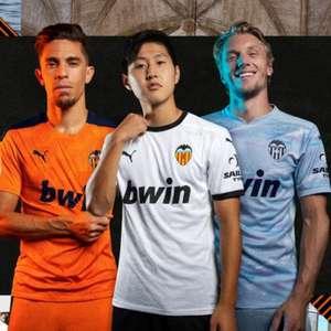 Valencia apresenta seus novos uniformes para a próxima ...