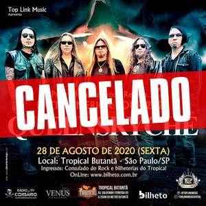 Queensrÿche cancela show que faria em São Paulo