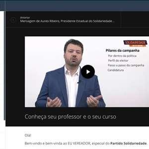 Candidatos a vereador participam de curso on-line para ...