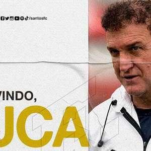 Santos anuncia a contratação de Cuca