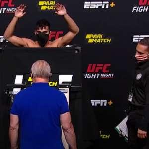 Três lutadores não batem o peso durante pesagem do UFC ...