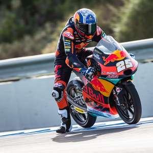 Fernández sobra na liderança do terceiro treino da Moto3 ...