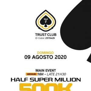 Em três torneios domingo, Trust Club vai distribuir R$ ...