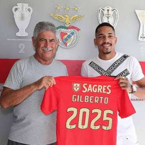 Benfica oficializa a contratação do lateral Gilberto, ...