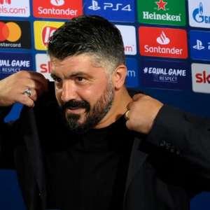 Gattuso elogia postura do Napoli e lamenta falta de ...
