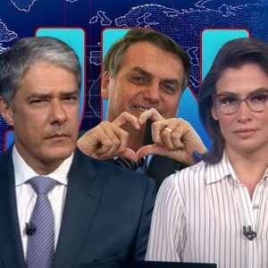 JN surpreende ao fazer um registro positivo sobre Bolsonaro