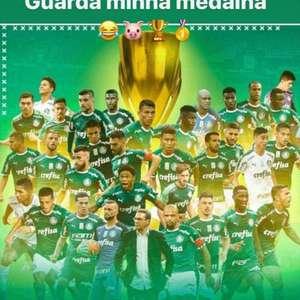 Dudu pede medalha de campeão ao Palmeiras e Galiotte ...
