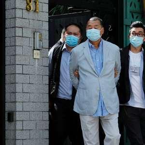 China apoia prisão de magnata de Hong Kong sob nova lei ...